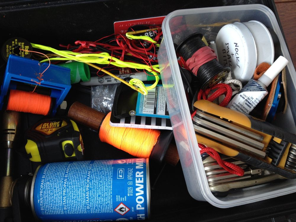 Messy spares box